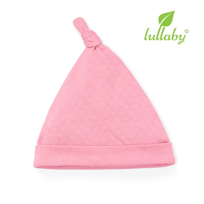NH62B.1 - Mũ thắt nút Lullaby màu hồng