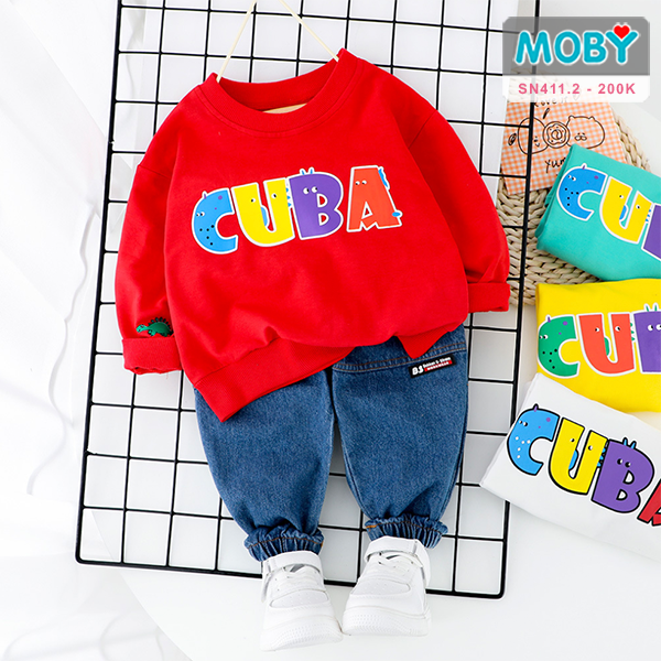 SN411.2 - Set áo & quần jeans cho bé