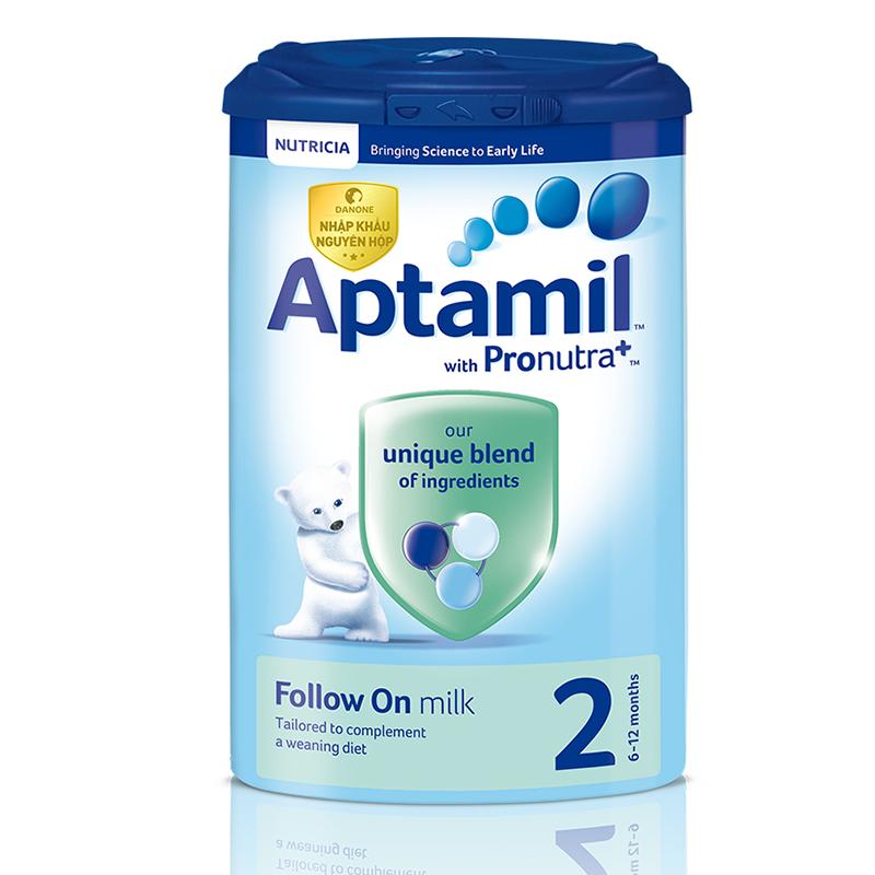 Sữa Aptamil Anh số 2 900g (6 - 12 tháng)