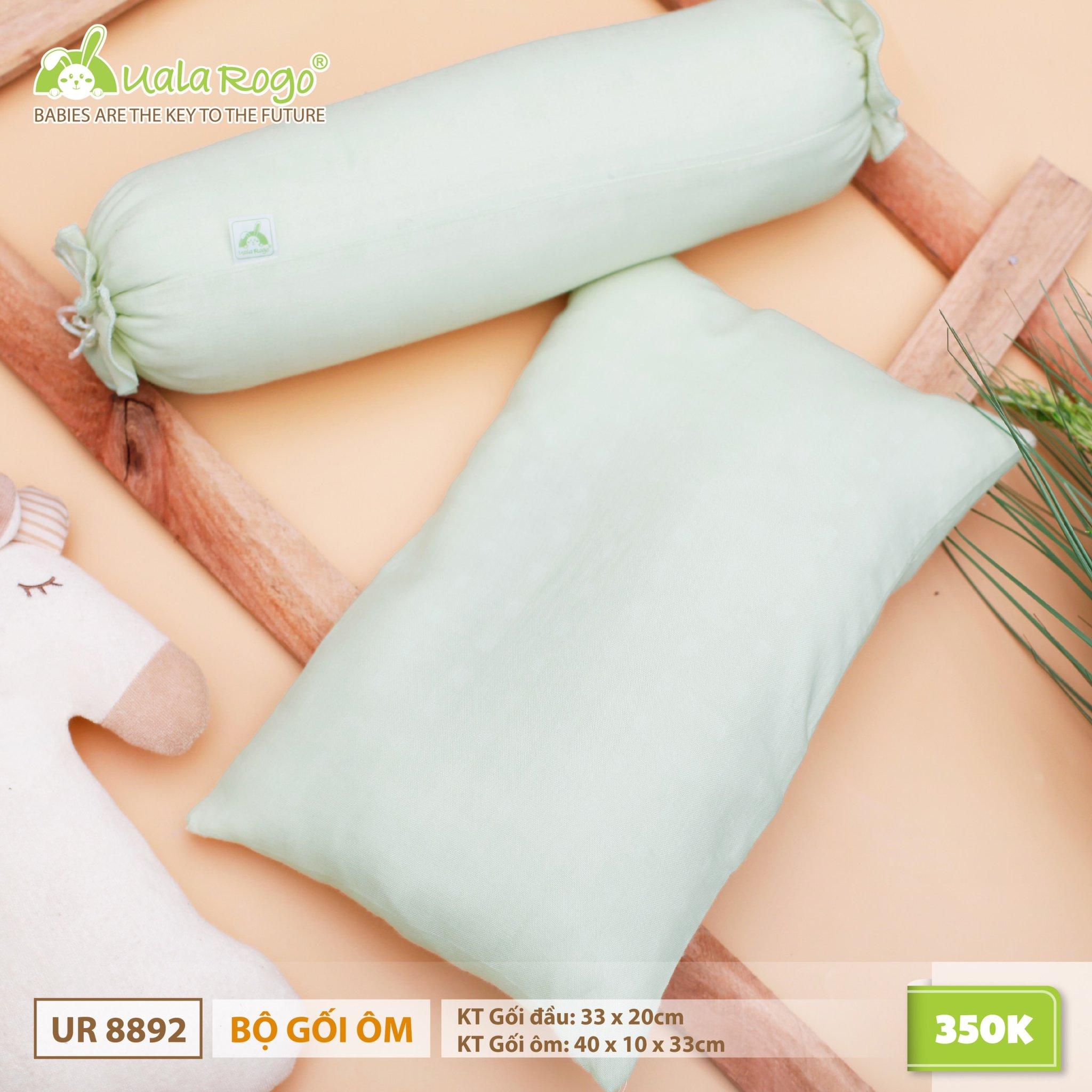 UR8892.3 – Bộ gối ôm bông nano - Màu xanh lá