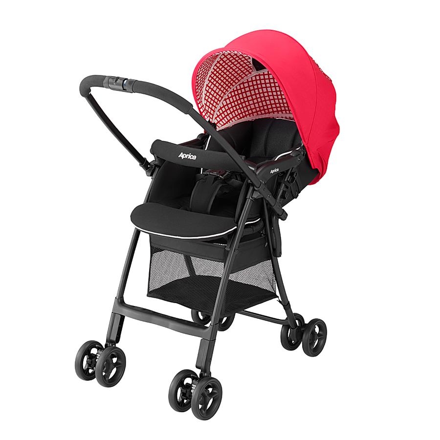 Xe đẩy trẻ em Aprica Karoon Air (RD TW) - Màu đỏ