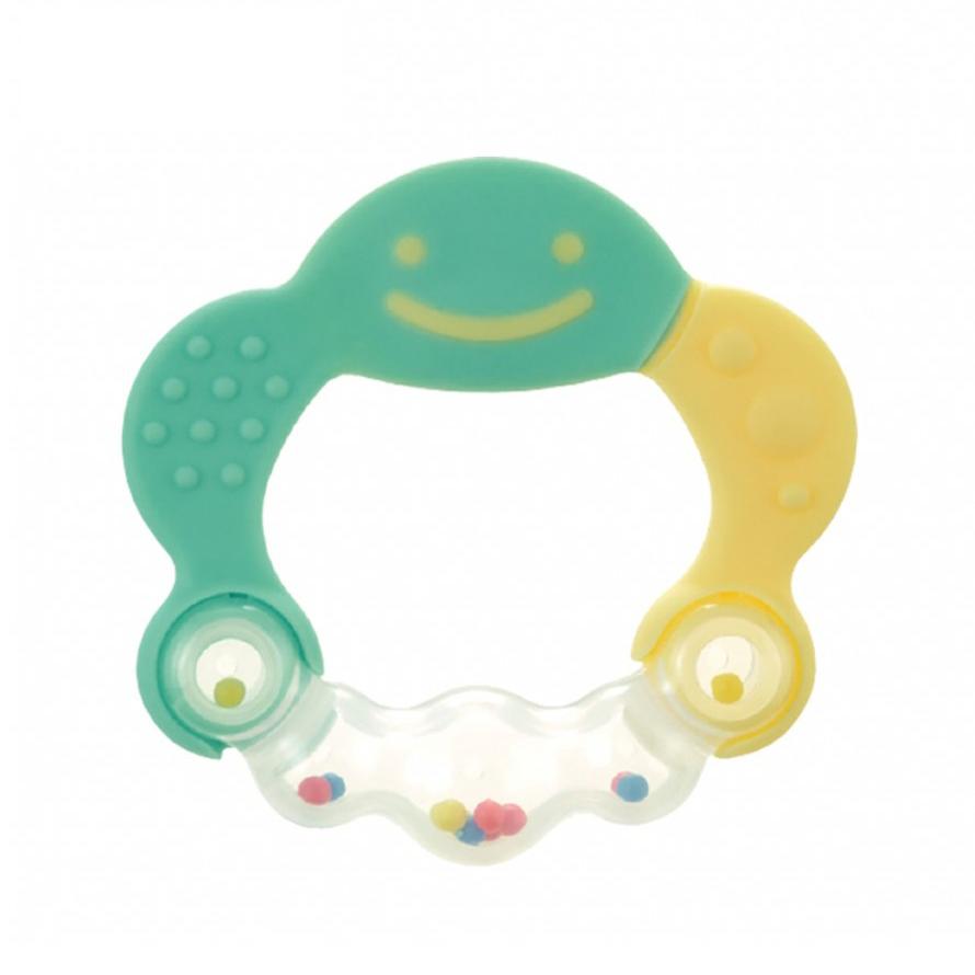 Gặm nướu xúc xắc tròn (màu xanh) Richell RC42317