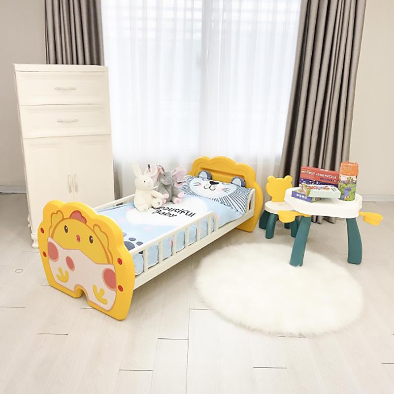 Giường nhựa Holla màu vàng