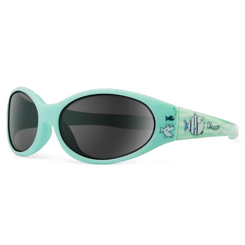 Kính râm chống tia UV Chicco 12M+ cá xanh