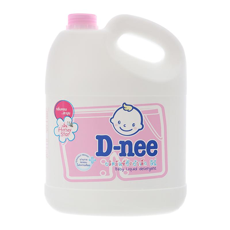 Nước giặt cho bé D-nee hồng chai 960ml