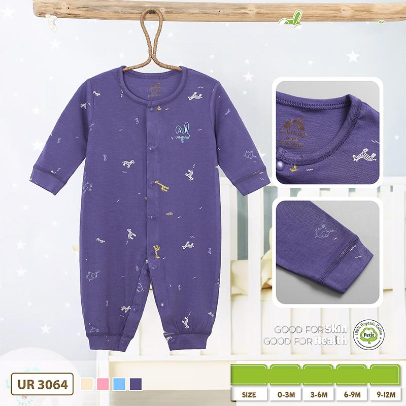 UR3064.2 - Bộ body dài vải Petit Uala Rogo - Màu xanh than