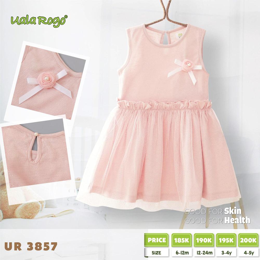 UR3857.1 - Váy đuôi cá Uala Rogo - Màu hồng