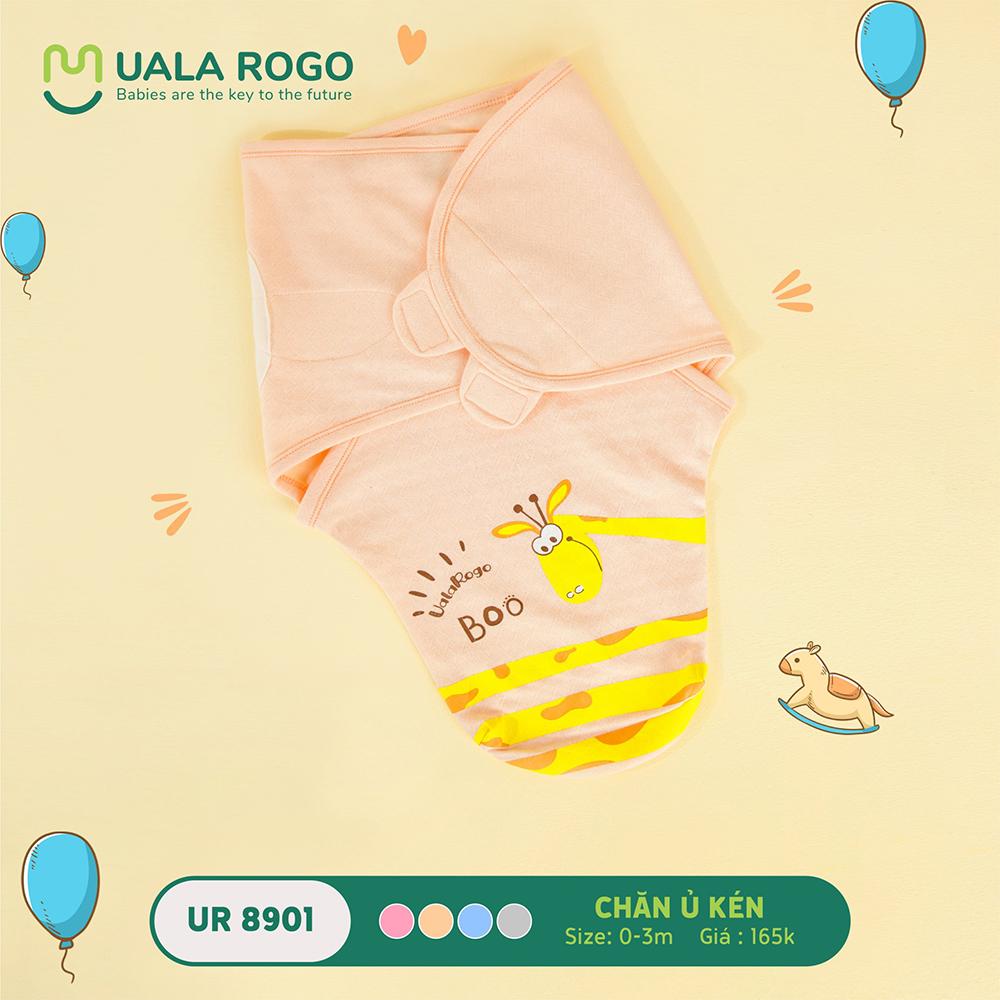 UR8901.1 - Chăn ủ kén sơ sinh Uala Rogo - Màu Cam