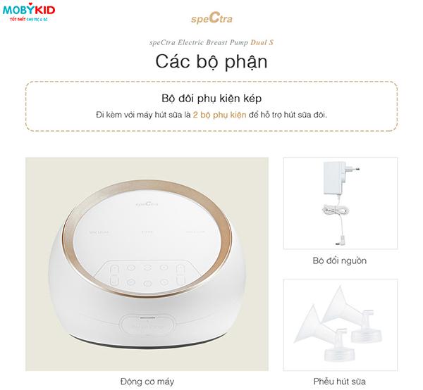 [Đập hộp] chiếc máy hút sữa điện đôi Spectra Dual S đầu tiên tại Việt Nam