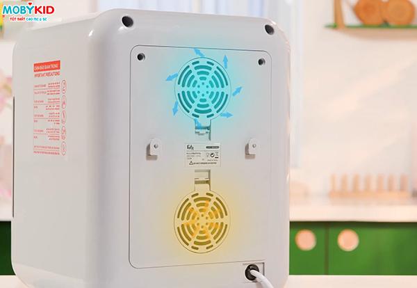 [Review] máy tiệt trùng sấy khô bằng tia UV của nhà Fatzbaby có tốt không?