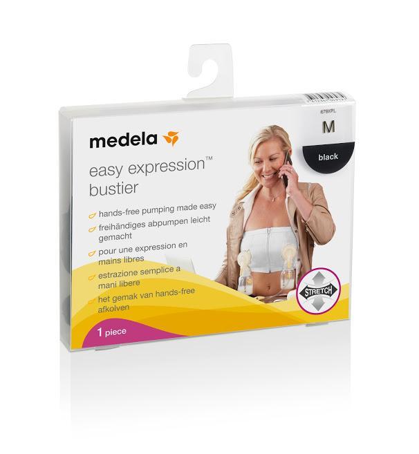 Áo hút sữa rảnh tay Medela Easy Expression Bustier (L, Trắng)