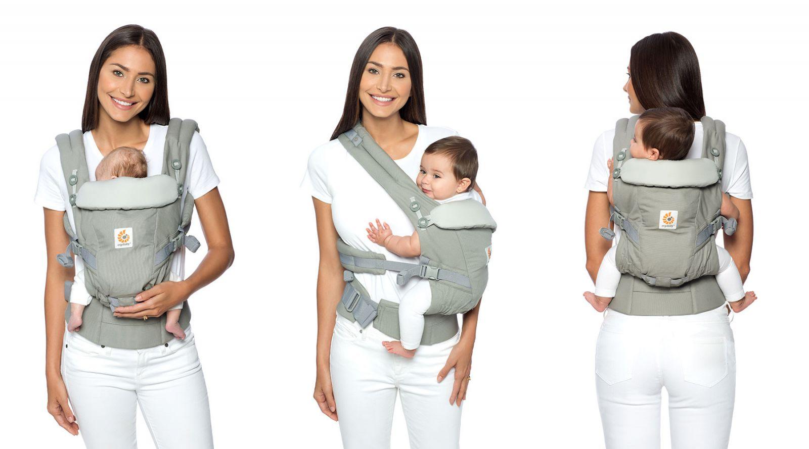Địu cho bé Ergobaby Adapt Cool Air Mesh - Chambray