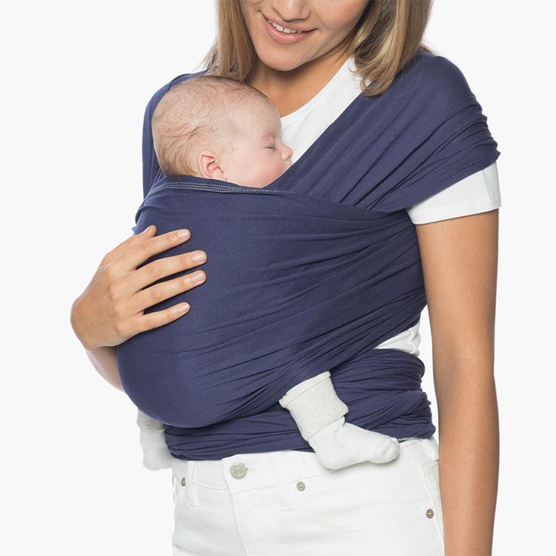 Địu cho bé Ergobaby Aura Baby Wrap - Indigo