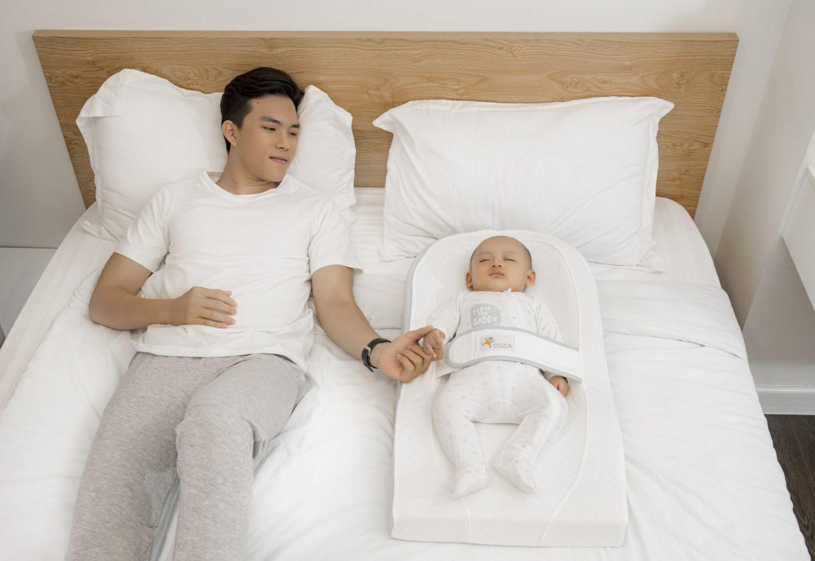 Đệm ngủ đúng tư thế và chống trào ngược Coza LITE - Màu Xanh Dương
