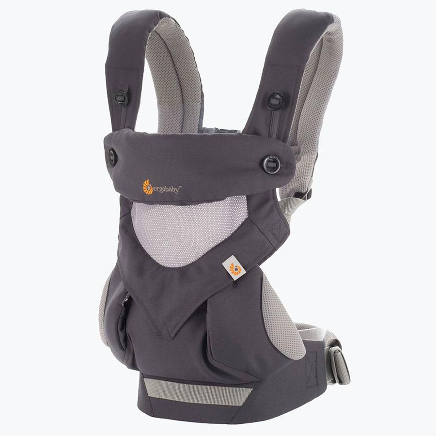 Địu cho bé Ergobaby 360 Cool Air Mesh – Carbon Grey