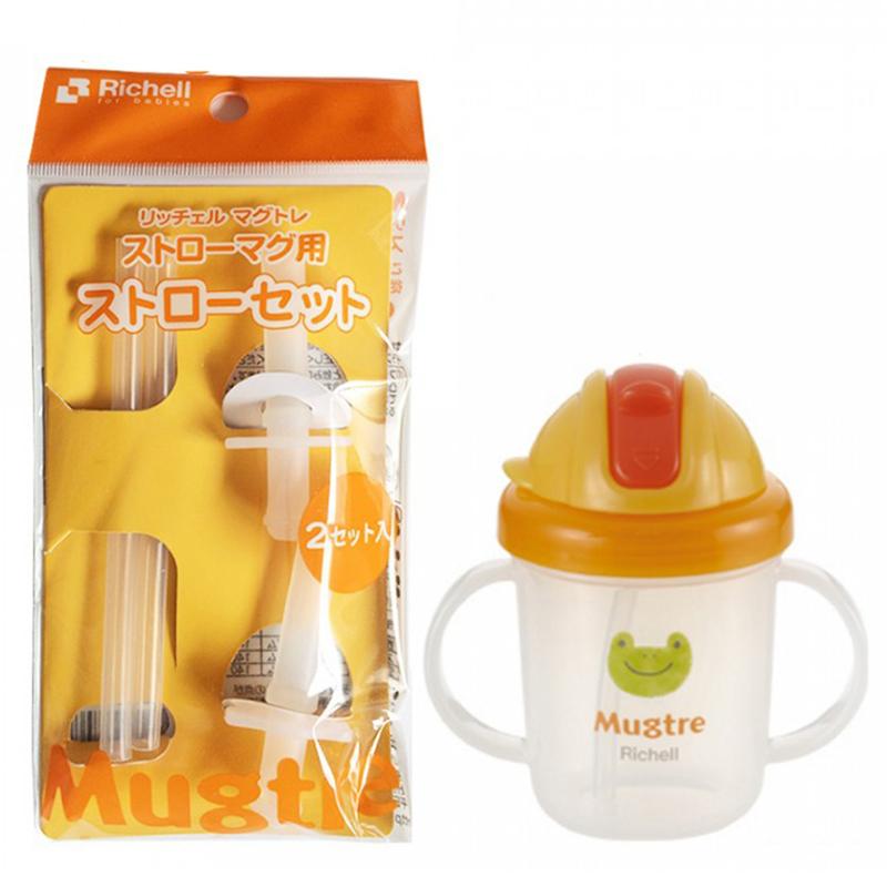 Ống hút thay thế cho cốc ống hút Mugtre Richell