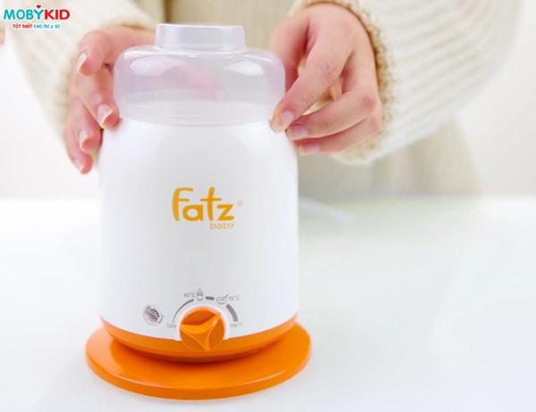 5 lý do tại sao mẹ nên sử dụng máy hâm và tiệt trùng bình sữa