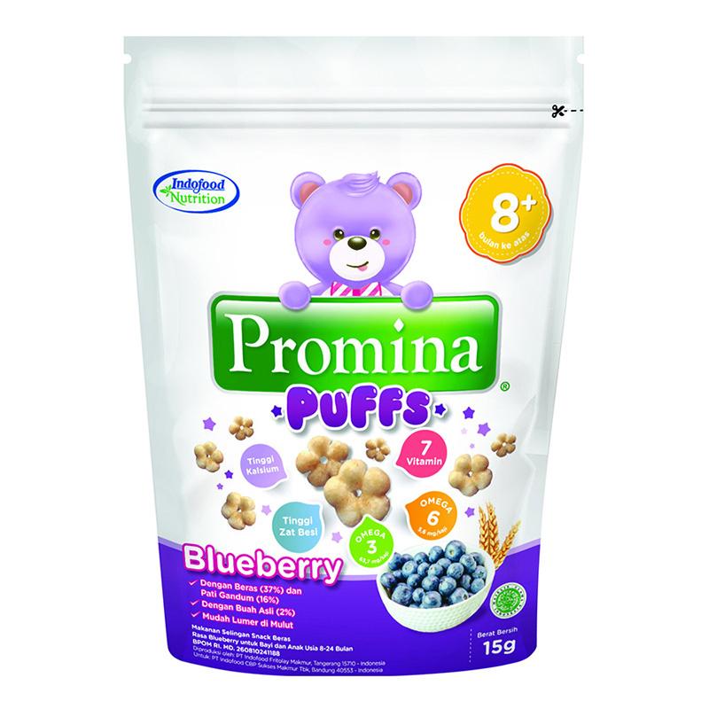Bánh ăn dặm Promina Indofood vị việt quất 15g