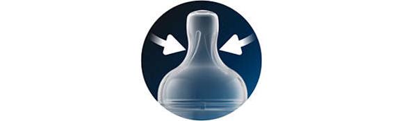 Bình sữa Philips Avent giảm đầy hơi với van giữ sữa AirFree™ SCF813/14