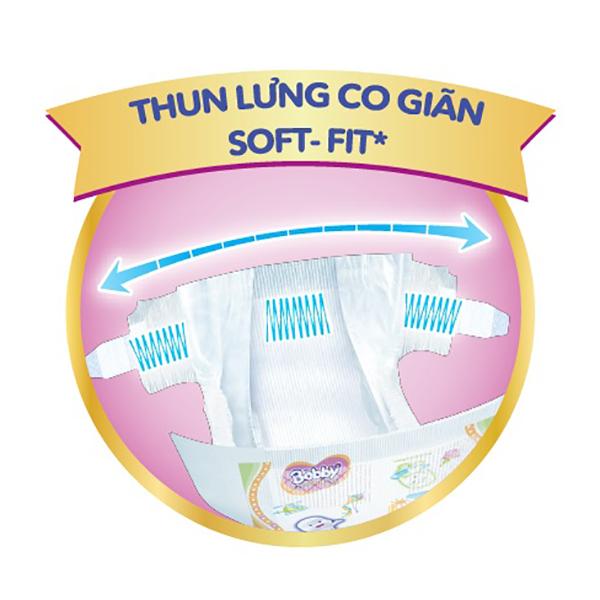 Bỉm - Tã dán cao cấp Bobby Extra Soft-Dry size XL - 27 miếng (12 - 17kg)