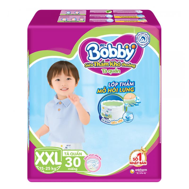 Bỉm - Tã quần Bobby Fresh size XXL - 30 miếng (15 - 25kg)