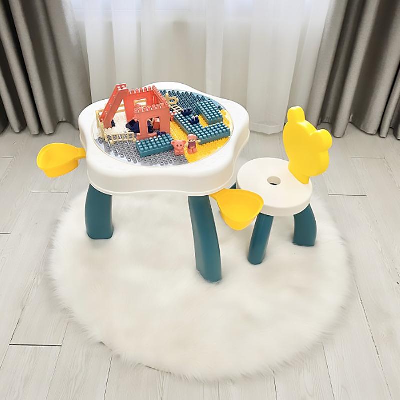 Bộ bàn lego gấu Holla
