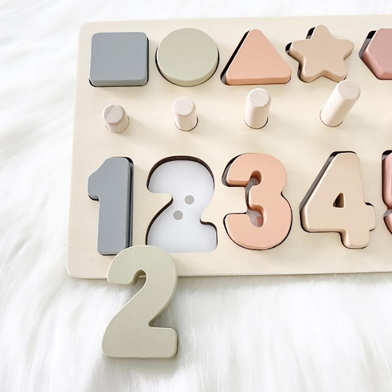 Bộ bảng số học bằng gỗ Pomo