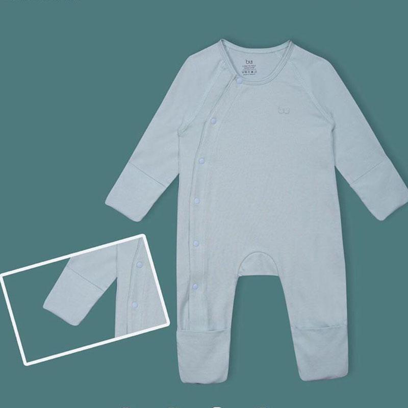 BOC004.mint- Bộ body dài kèm bao tay, bao chân- Bu
