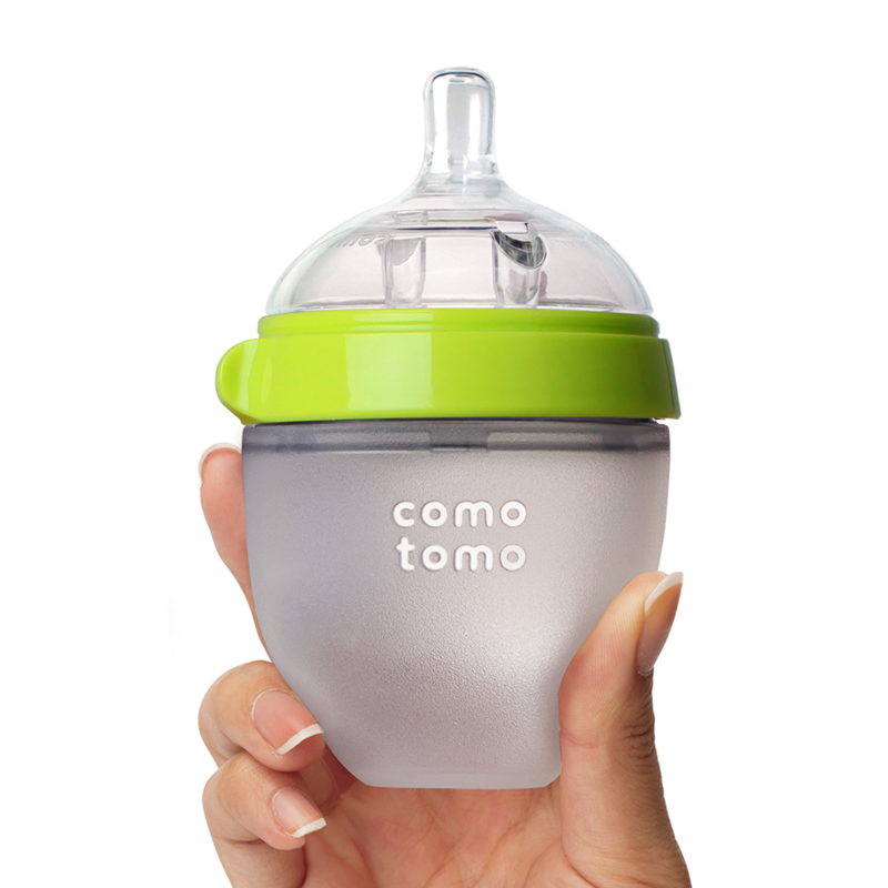 Bình sữa Comotomo Baby Bottle 150ml (Single) - Màu xanh