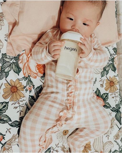 Bình sữa Hegen PPSU 330ml núm ti dành cho bé trên 6 tháng tuổi