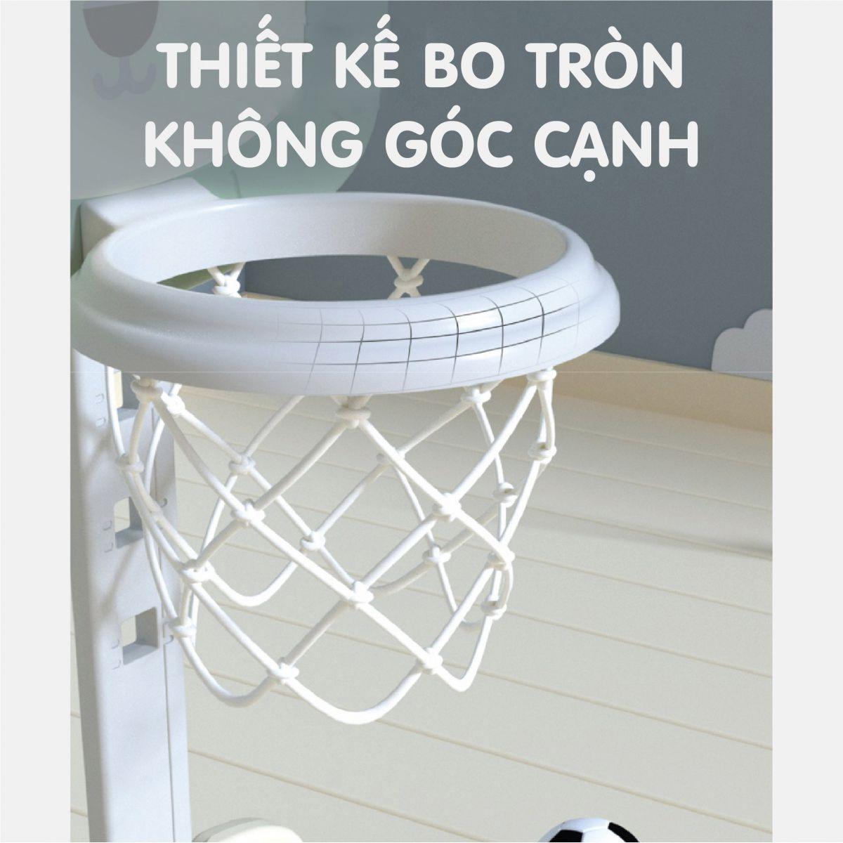 Cầu gôn bóng rổ Holla màu vàng