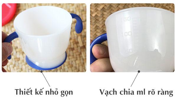 Cốc tập uống 3 giai đoạn Richell (Tay Xanh Lơ)