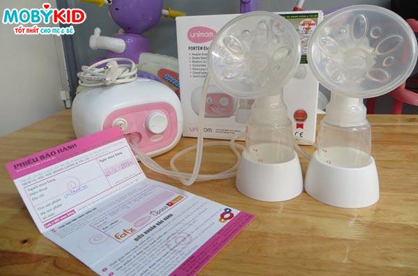 Chính sách bảo hành máy hút sữa Unimom thương hiệu Hàn Quốc
