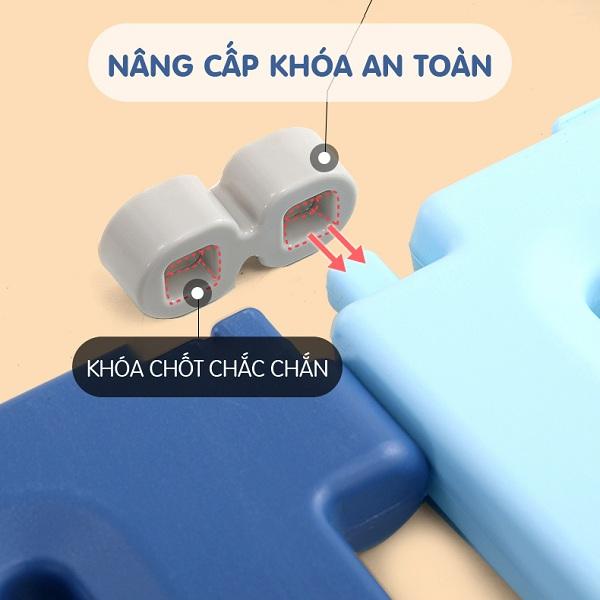 Combo quây Holla vương miệng full màu cam 186x216cm