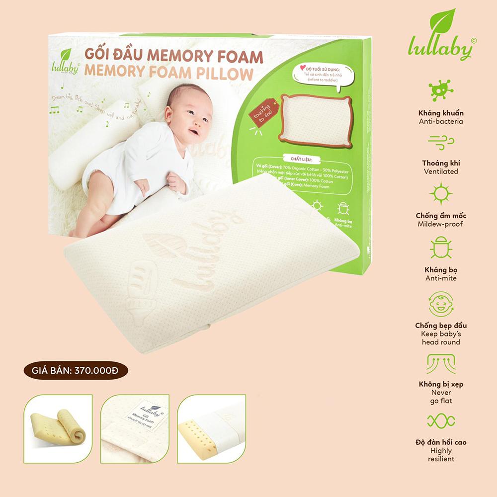Gối đầu cho bé sơ sinh Lullaby NH42-20-1