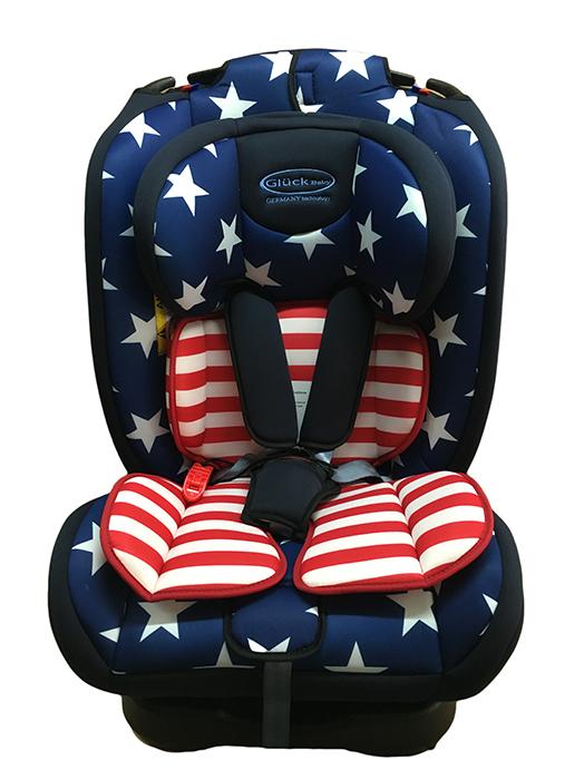 Ghế ngồi ô tô Gluck ZY-02 cờ Mỹ