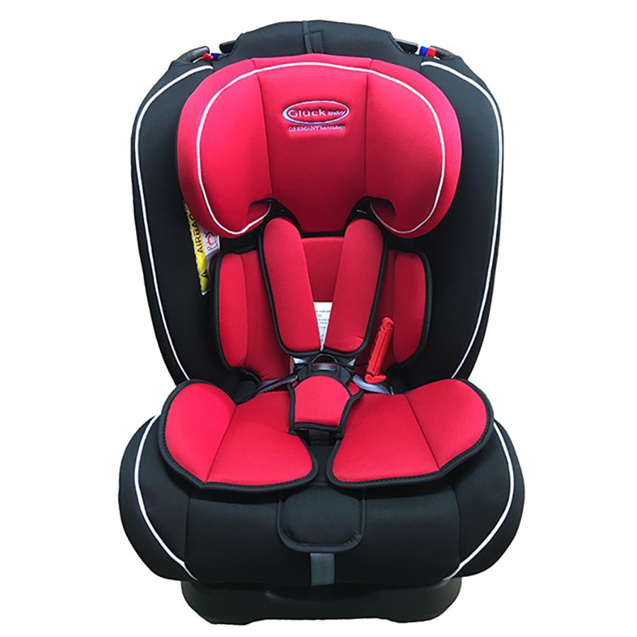 Ghế ngồi ô tô Gluck ZY-02 màu đỏ