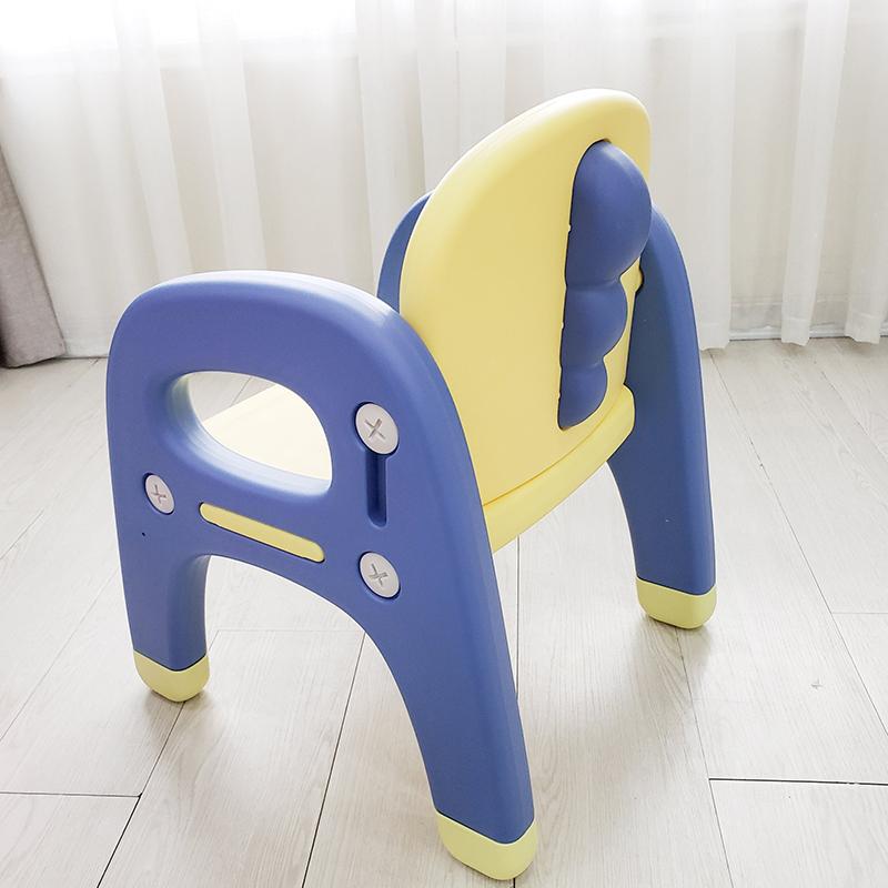 Ghế nhựa cho bé Holla 2021 màu vàng