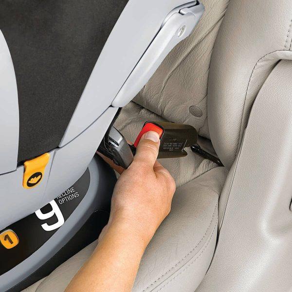 Ghế ngồi ô tô từ sơ sinh Chicco NextFit ZIP - Màu xám