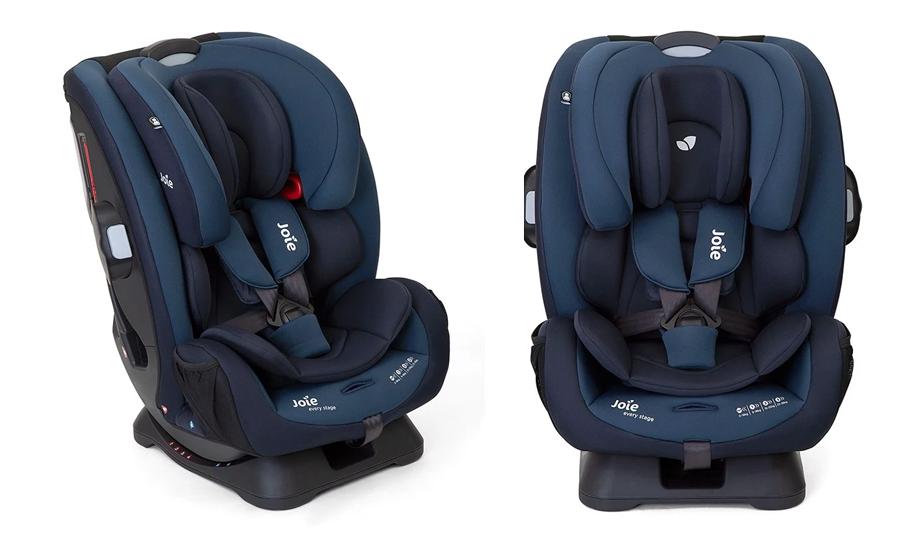 Ghế ngồi ô tô trẻ em Joie Every Stage Deep Sea: kết cấu vững chắc, thiết kế thông minh, an toàn cho bé