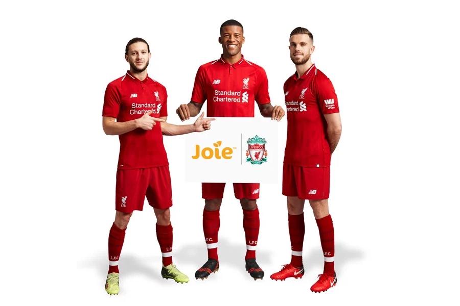 Ghế ngồi ô tô trẻ em Joie Every Stage FX LFC Red Liverbird kết hợp với đội bóng Liverpool danh tiếng