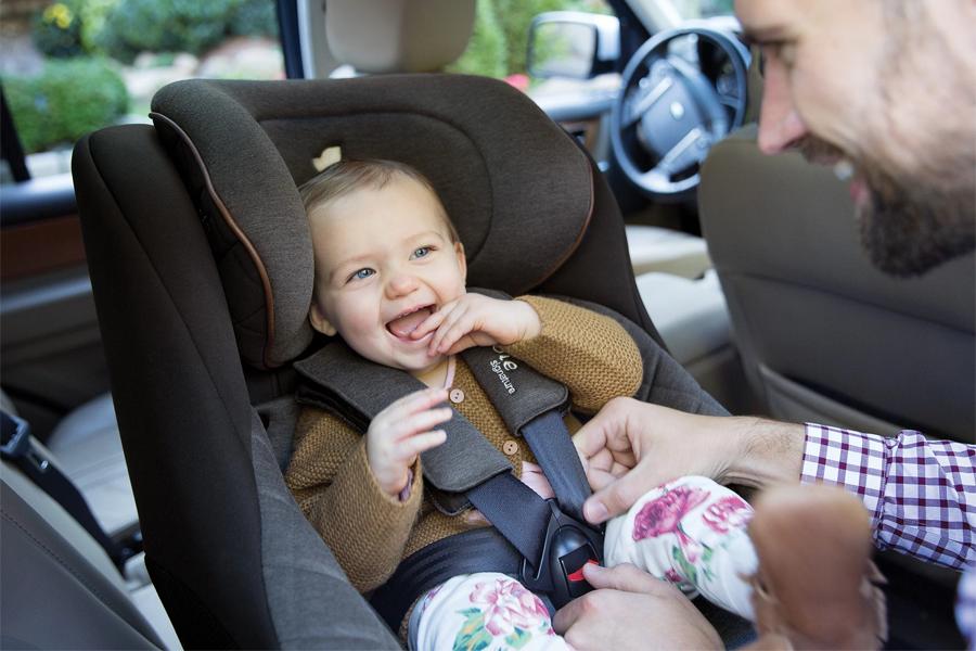 Ghế ngồi ô tô trẻ em Joie Spin 360™ Signature Noir: chất liệu thượng hạng, tính năng cao cấp