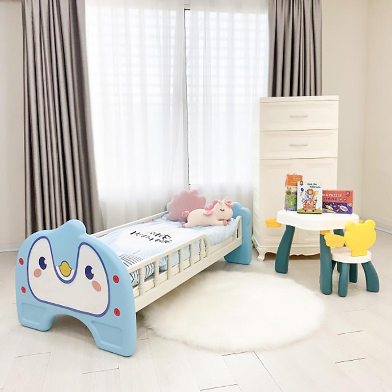 Giường nhựa Holla màu xanh