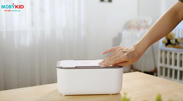 Hướng dẫn cách sử dụng máy làm ấm khăn ướt Moaz BéBé
