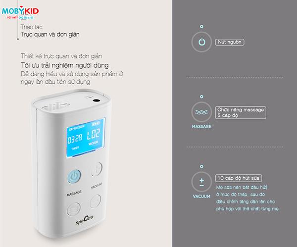 Hướng dẫn sử dụng và vệ sinh máy hút sữa Spectra cho các mẹ lần đầu sử dụng