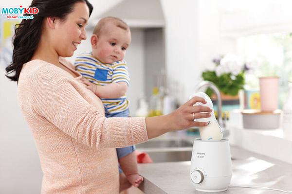 Hướng dẫn sử dụng, bảo quản Máy hâm sữa nhanh Philips Avent SCF358/00