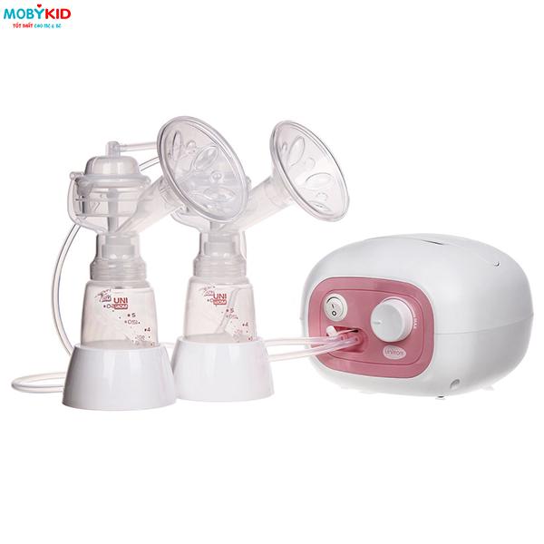 Hướng dẫn sử dụng & vệ sinh Máy hút sữa điện đôi Unimom Forte