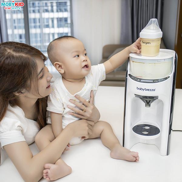 Lưu ý khi pha sữa với máy pha sữa Baby Brezza Formula Pro Advanced thế hệ thứ 2