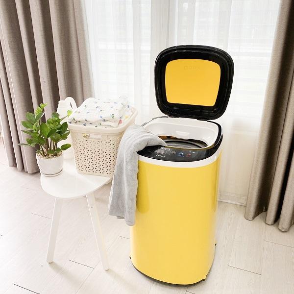 Máy Giặt Mini Doux Màu Vàng
