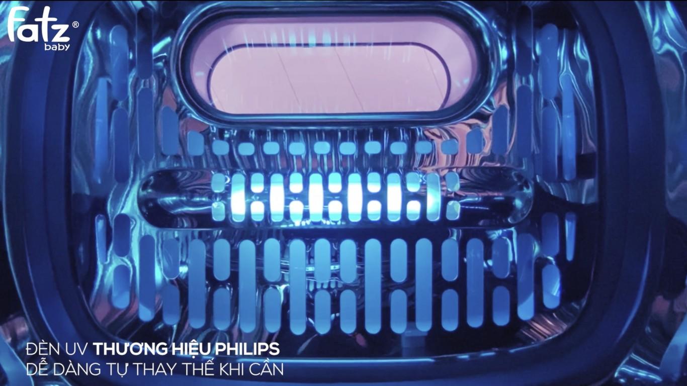Máy Tiệt Trùng UV Có Chức Năng Sấy Khô - SUPER 4 - FB4790MX
